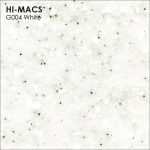 Hi-macs G004 White Quartz