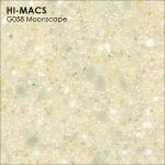 Hi-macs G058 Moonscape Quartz