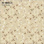 Hi-macs G030 Ivory Quartz